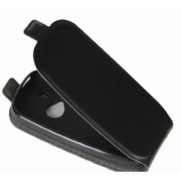 Nokia E52 Allaavanev Silikoonraamiga Kaitsekott must