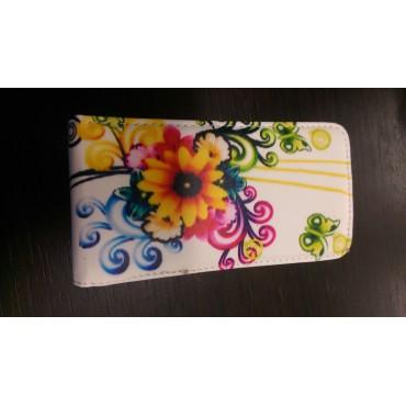 Nokia 520 Lumia Allaavanev plastikraamiga Kaitsekott Flowers Butterfly