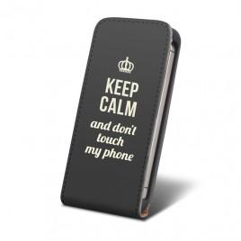 Huawei Y550 KEEP CALM allaavanev klapiga kaitsekott