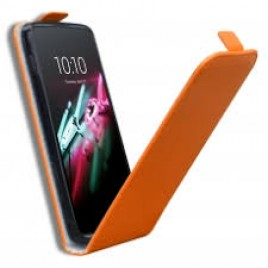 Sony Xperia Z2 Allaavanev plastikraamiga Kaitsekott oranz
