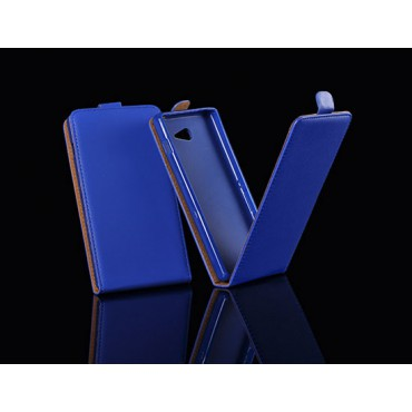Sony Xperia M2 allaavanev kaitsekott sinine