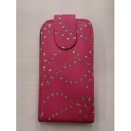 Nokia 520 Lumia kivikestega kaitsekott roosa