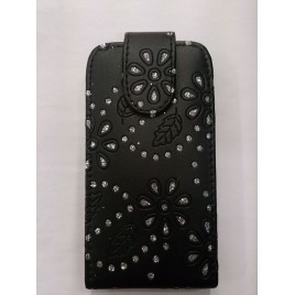 Nokia 520 Lumia kivikestega kaitsekott must