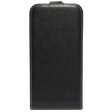 Sony Xperia M5 (E5603, E5606, E5653) Allaavanev Silikoonraamiga kaitsekott Must