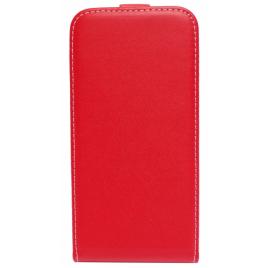Huawei P9 Lite Allaavanev Silikoonraamiga kaitsekott punane