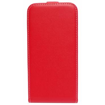 Sony Xperia M5 (E5603, E5606, E5653) Allaavanev Silikoonraamiga kaitsekott punane