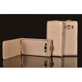 Samsung A5 (2017) / A520  Allaavanev Silikoonraamiga Kaitsekott kuldne