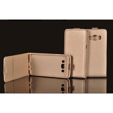 Huawei P9 Lite Mini Allaavanev Silikoonraamiga Kaitsekott kuldne