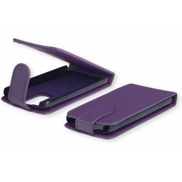 Sony Xperia E1 Allaavanev plastikraamiga Kaitsekott lilla