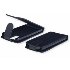 Nokia C6-01 allaavaneva klapiga kaitsekott must