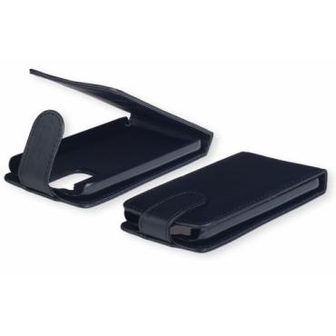 Huawei P8 Lite Allaavanev plastikraamiga Kaitsekott must