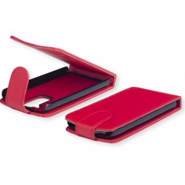 Nokia C2-01 allaavaneva klapiga kaitsekott punane