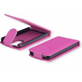 Samsung S5610 / S5611 Allaavanev plastikraamiga Kaitsekott roosa