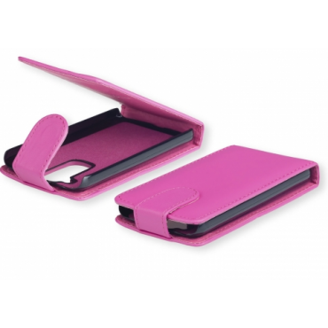 Nokia 520 Lumia Allaavanev plastikraamiga Kaitsekott roosa