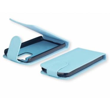 Nokia 520 Lumia Allaavanev plastikraamiga Kaitsekott helesinine