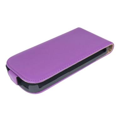 Nokia 520 Lumia Allaavanev plastikraamiga Kaitsekott lilla