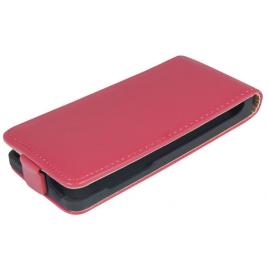 Samsung S7390 Galaxy Trend Lite Allaavanev plastikraamiga Kaitsekott punane