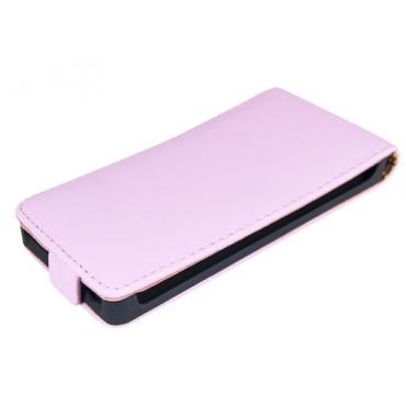 Sony Xperia M2 Allaavanev plastikraamiga Kaitsekott roosa