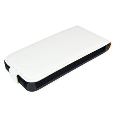 Nokia 520 Lumia Allaavanev plastikraamiga Kaitsekott valge