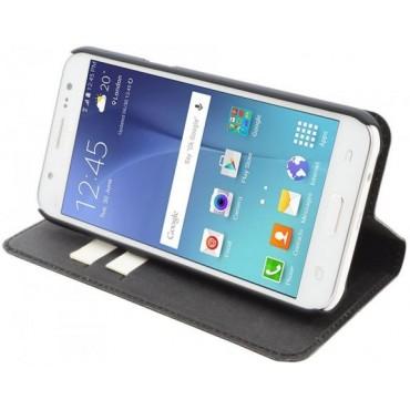 Samsung J5 / J500 Wave Book kaitsekott must