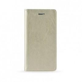 Huawei P20 Lite Leather Magnet kaitsekott kuldne