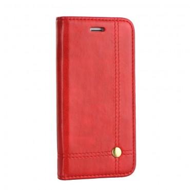 Huawei P9 Lite Mini Prestige Book kaitsekott punane