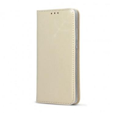Samsung A5 (2016) / A510 nahast kaitsekott Smart Modus kuldne