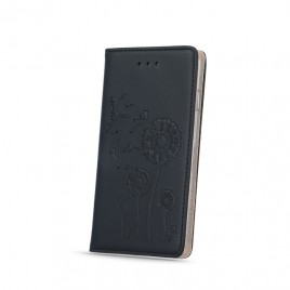 Apple Iphone 6 / 6s nahast kaitsekott Smart Stamp dandelion must
