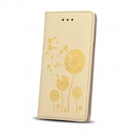 Apple Iphone 6 / 6s nahast kaitsekott Smart Stamp dandelion kuldne