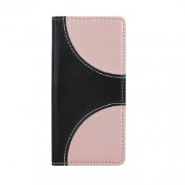 Huawei P8 Lite Smart Duos Book kaitsekott must-roosa