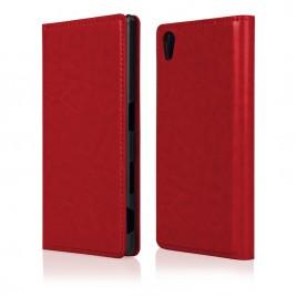 Sony Xperia Z5 mini ProSkin Book kaitsekott punane