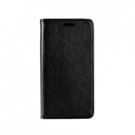 Samsung A50 / A505f Leather Magnet kaitsekott must