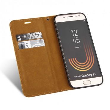 Apple Iphone 6 / 6s Leather Elegance Book kaitsekott kuldne