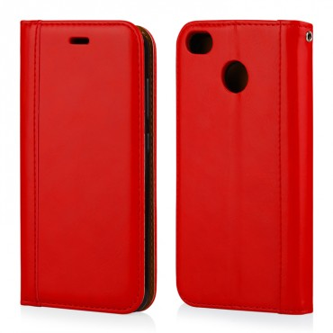 Apple Iphone 7 / 8 Leather Elegance Book kaitsekott punane