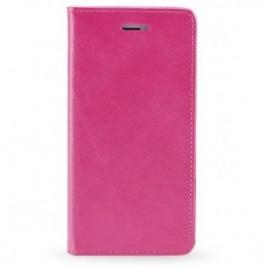 Huawei P20 Lite Leather Magnet kaitsekott roosa