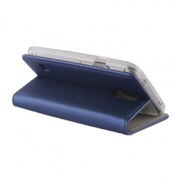 Samsung A40 / a405f Smart Magnet kaitsekott sinine