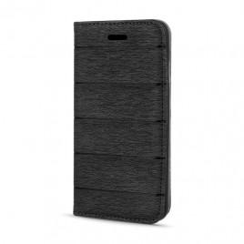 Samsung J500 Galaxy J5 Smart Magnet kaitsekott must