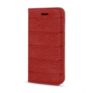 Samsung J500 Galaxy J5 Smart Magnet kaitsekott punane