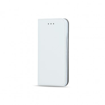 Samsung J3 (2017) / J330  Smart Magnet kaitsekott valge