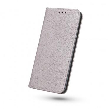 Samsung J7 (2016) / J710 Smart Shine Book kaitsekott roosakas kuldne