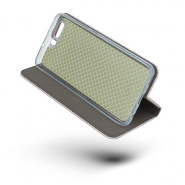 Samsung S8 / G950 Smart Shine Book kaitsekott roosakas kuldne