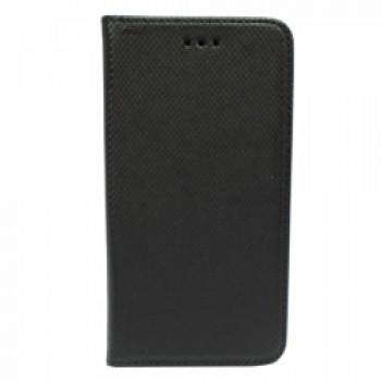 Samsung A6 (2018) / A600 Smart Magnet kaitsekott must