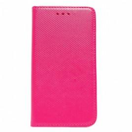 Samsung J500 Galaxy J5 Smart Magnet kaitsekott roosa