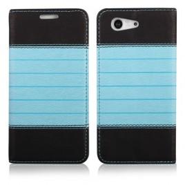 Apple Iphone 5 / 5s / SE Book Double kaitsekott must-sinine