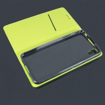 Xiaomi Redmi Note 7 Smart Magnet kaitsekott laimiroheline