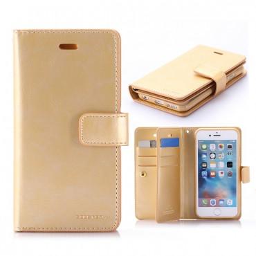 Apple Iphone 6 Plus / 6s Plus Mansoor Wallet kaitsekott kuldne