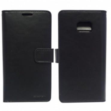 Samsung G935 Galaxy S7 Edge Mansoor Wallet kaitsekott must