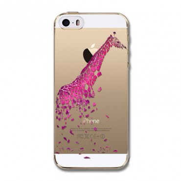 Apple Iphone 4 / 4s plastikkaitse Giraffe