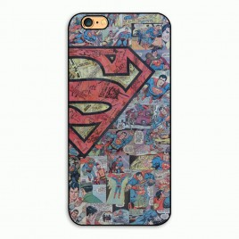Apple Iphone 6 / 6s plastik tagakorpus Superman Comics
