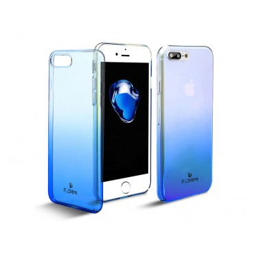 Apple Iphone 7 / 8 Floveme Ombre plastikkaitse helesinine